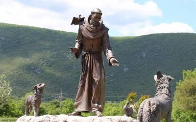 Kako je sveti Franjo uspostavio mir između vuka i gubijskih građana